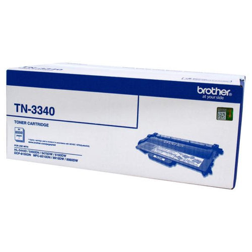 TN3340 Genuine Brother black toner