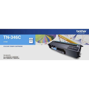 TN346 Brother genuine cyan toner