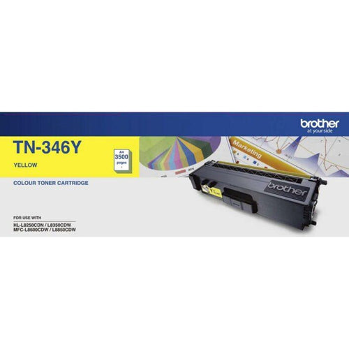 TN346 Brother genuine yellow toner