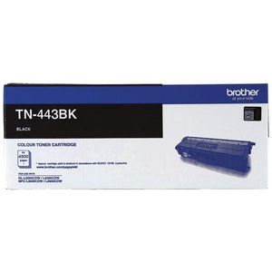 Genuine TN443 Black toner cartridge