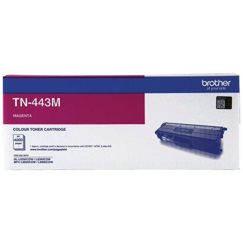 Genuine TN443 magenta toner cartridge