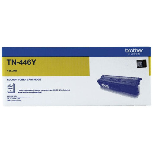 TN446 Brother genuine yellow toner
