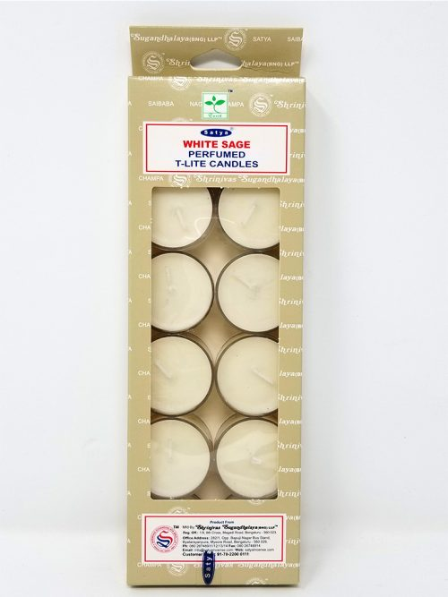 White Sage Perfumed Tealight Candles