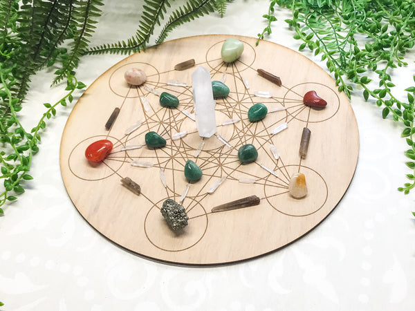 Business and Career - Success and Prosperity - Crystal Energy Grid Pack