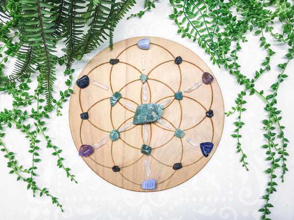 Calm and Serenity, Alleiviating Stress B - Crystal Energy Grid Pack