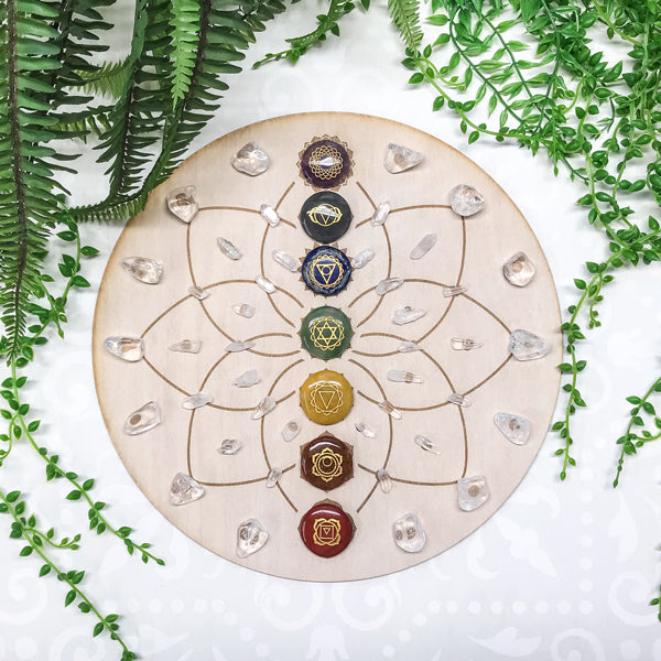 Chakra Energy C - Crystal Energy Grid Pack