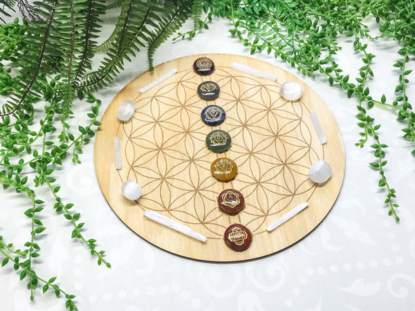 Chakra Energy D - Crystal Energy Grid Pack