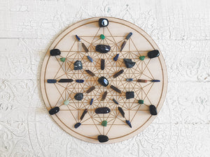 Emotional and Psychic Protection A - Crystal Energy Grid Pack