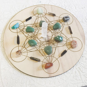Business and Career - For Success and Prosperity - Crystal Energy Grid Pack