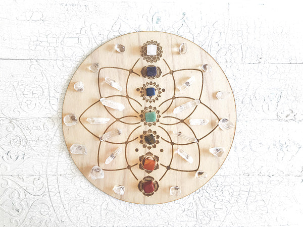 Chakra Energy A - Crystal Energy Grid Pack