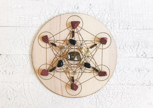 Grounding Energy - Crystal Energy Grid Pack
