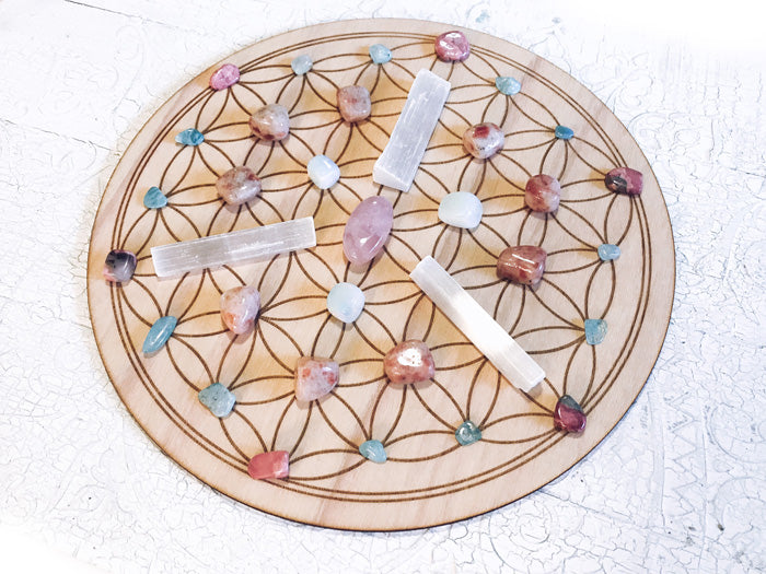 Harmony and Tranquility - Crystal Energy Grid Pack