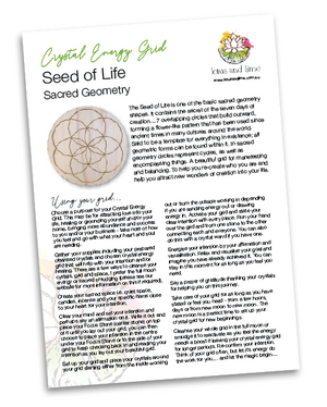 Crystal Energy Grid - Seed of Life