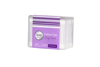 5 Boxes of Cotton Tips (240 Per Packet)
