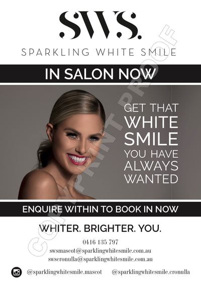 In Salon Promotional Poster A3 Size Gloss Paper