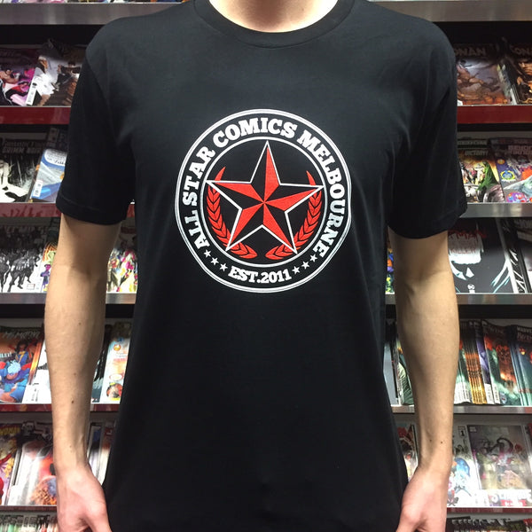 TSHIRT CIRCLE BLACK S