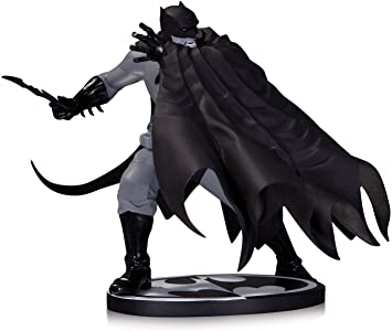 BATMAN BLACK & WHITE STATUE BY DAVE JOHNSON