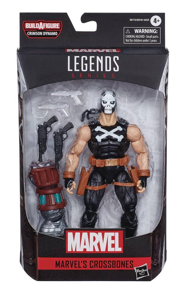 BLACK WIDOW LEGENDS CROSSBONES 6IN AF