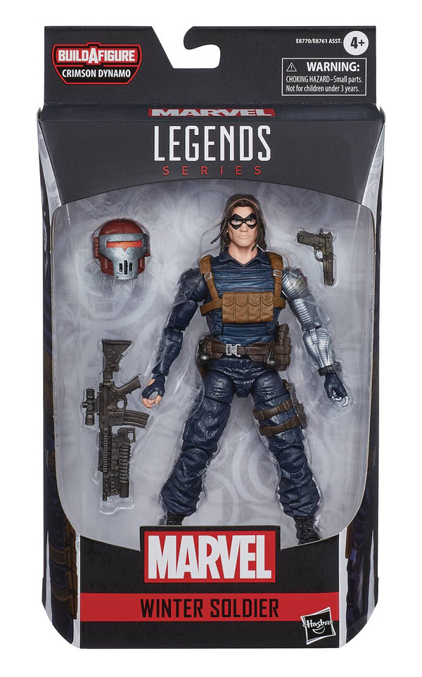 BLACK WIDOW LEGENDS WINTER SOLDIER 6IN AF