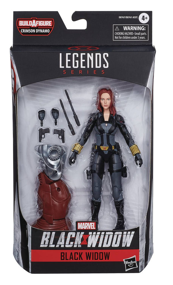 BLACK WIDOW LEGENDS BLACK WIDOW 6IN AF