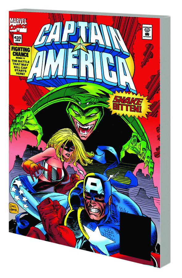 CAPTAIN AMERICA FIGHTING CHANCE TP VOL 02