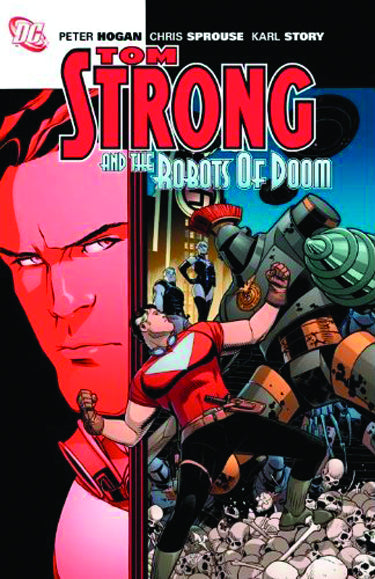 TOM STRONG AND THE ROBOTS OF DOOM TP