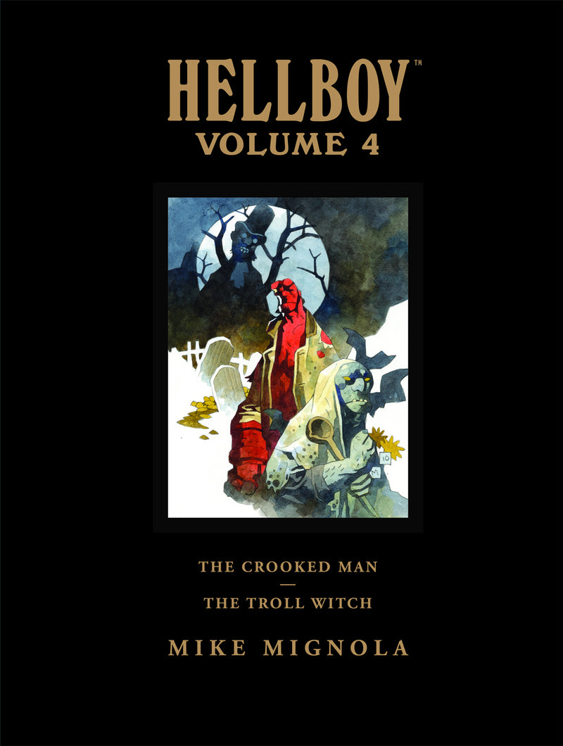 HELLBOY LIBRARY HC VOL 04 CROOKED MAN