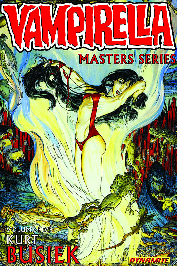 VAMPIRELLA MASTERS SERIES TP VOL 05 KURT BUSIEK (C: 0-1-2)
