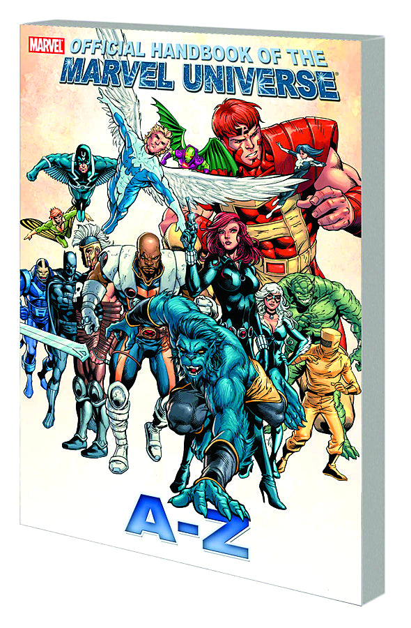 OFF HANDBOOK OF MARVEL UNIVERSE A TO Z TP VOL 01