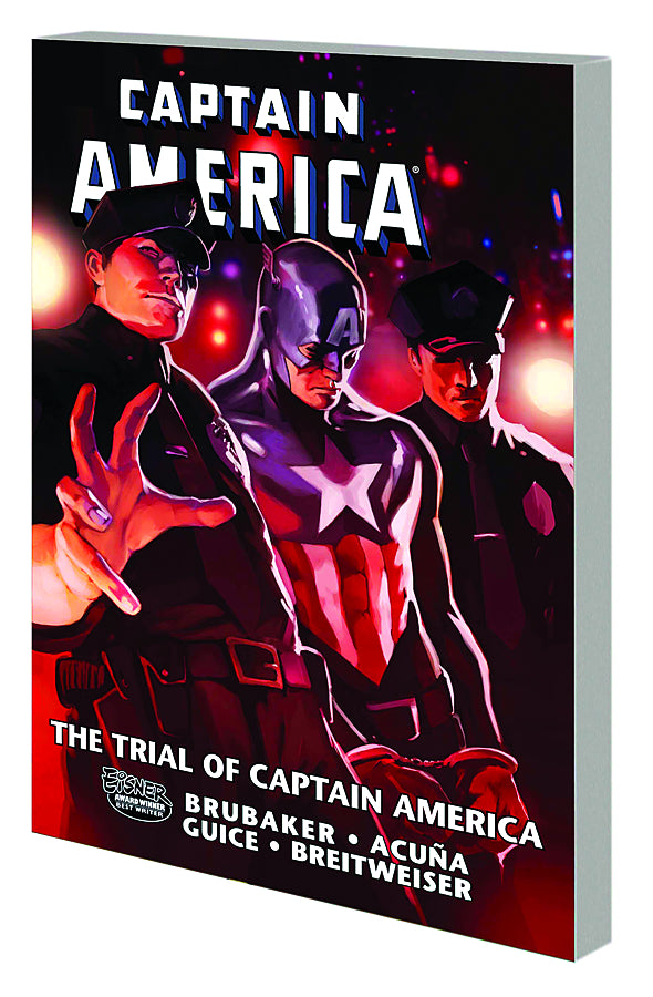 CAPTAIN AMERICA TRIAL OF CAPTAIN AMERICA TP