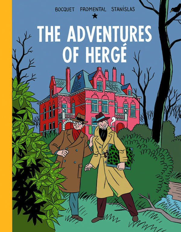 ADVENTURES OF HERGE HC (C: 0-0-2)