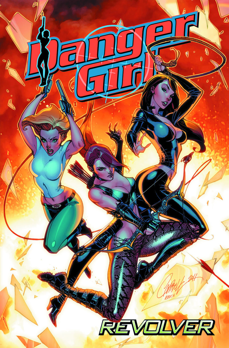 DANGER GIRL REVOLVER TP