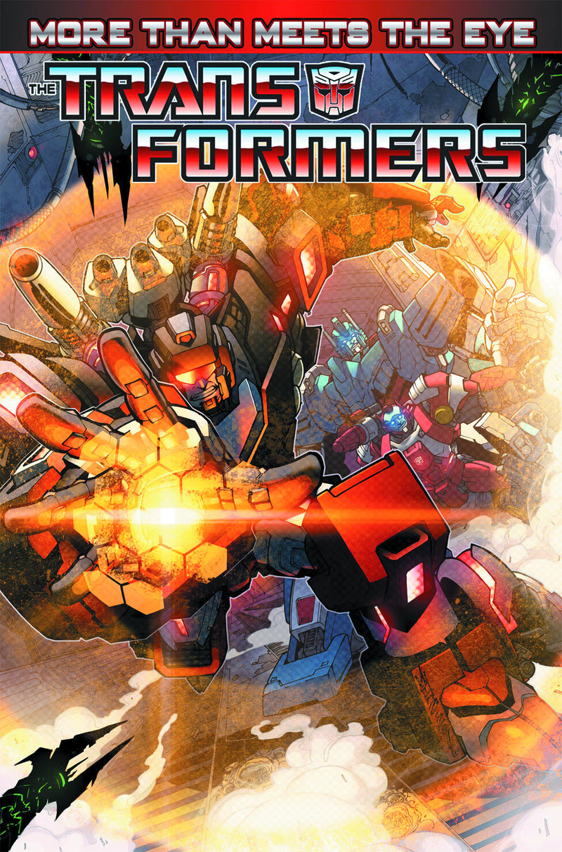 TRANSFORMERS MORE THAN MEETS THE EYE TP VOL 01