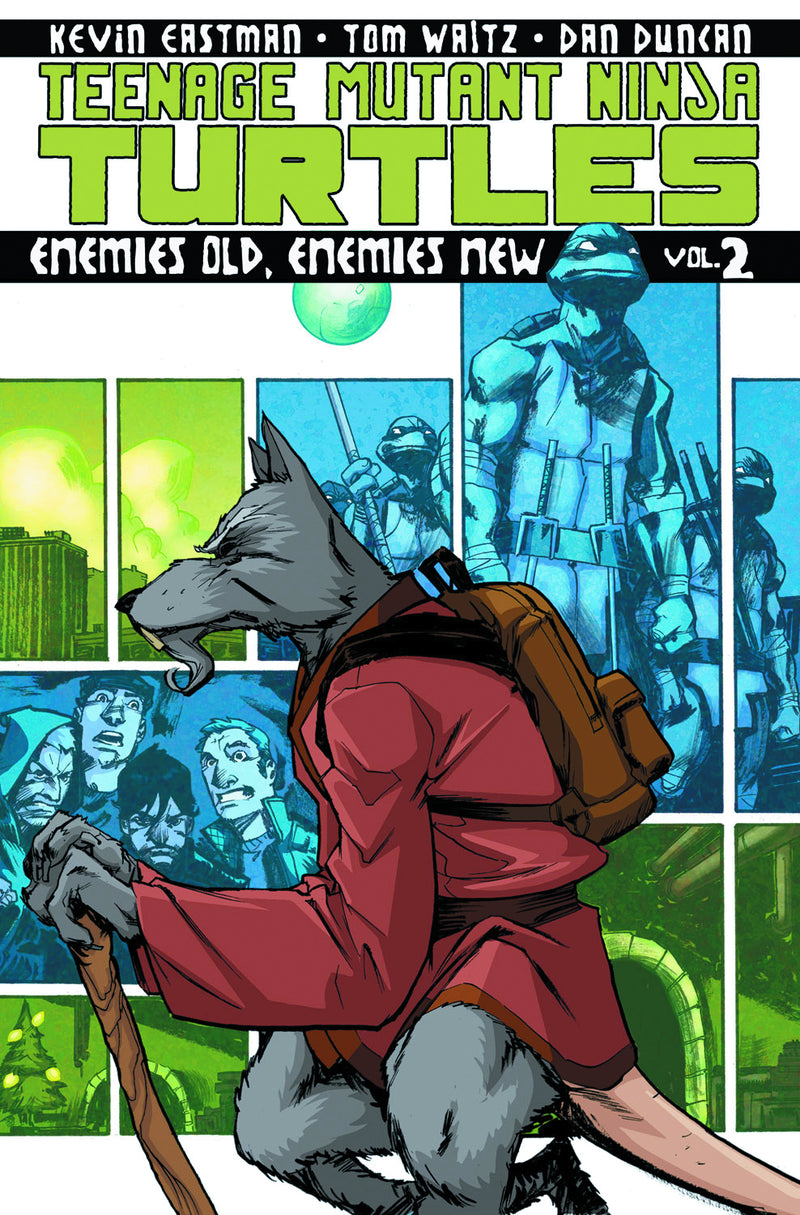 TMNT ONGOING TP VOL 02 ENEMIES OLD