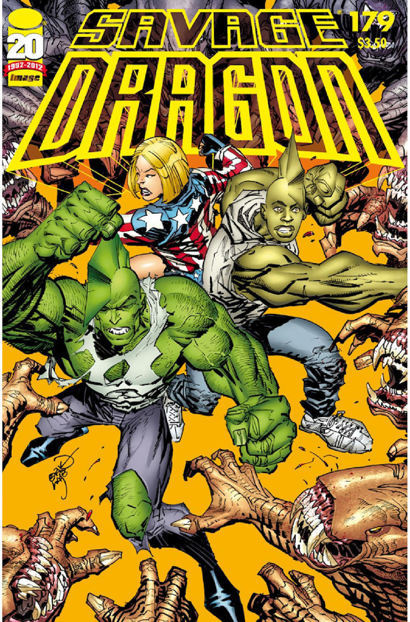 SAVAGE DRAGON INVASION TP