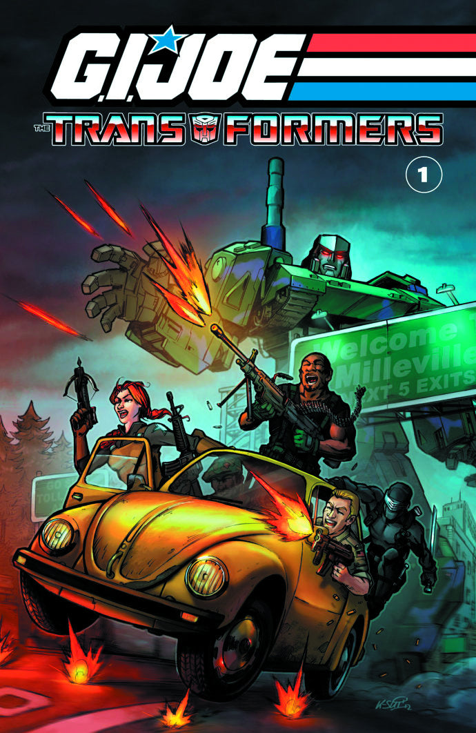 GI JOE / TRANSFORMERS TP VOL 01