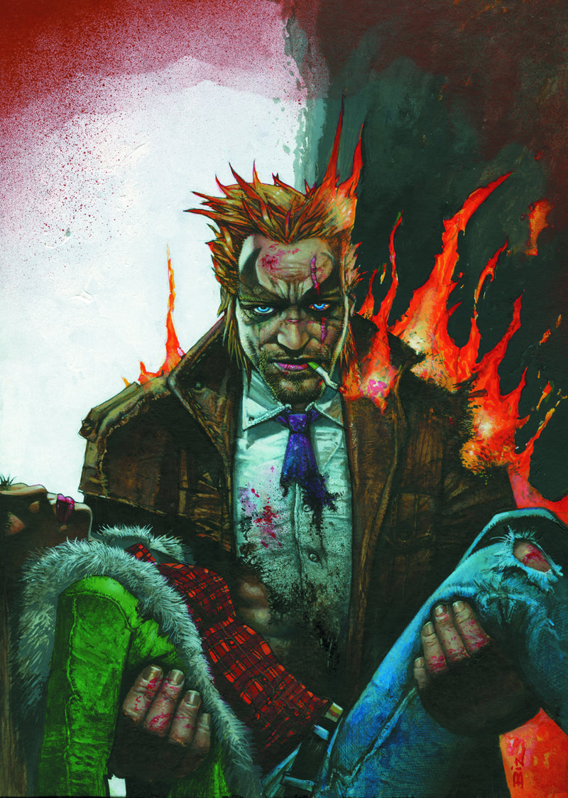 HELLBLAZER THE DEVILS TRENCH COAT TP (MR)