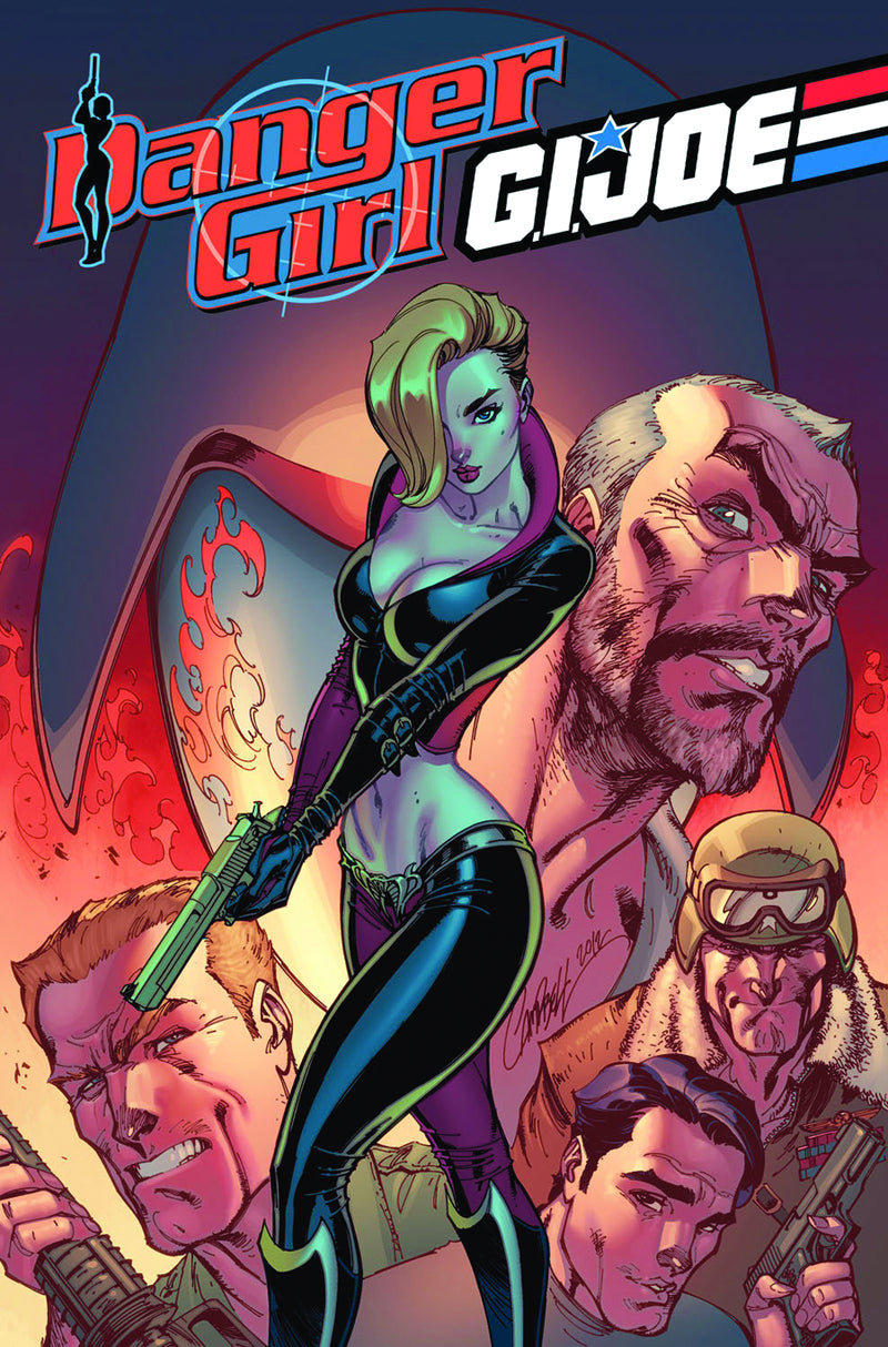 DANGER GIRL GI JOE HC
