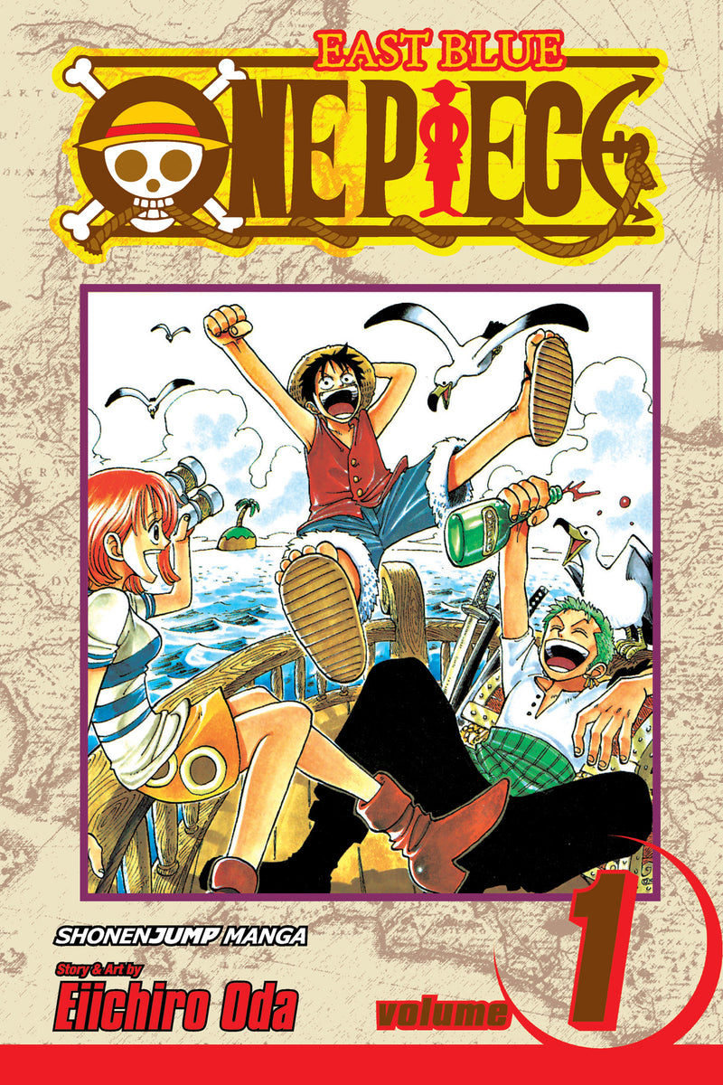 ONE PIECE GN VOL 01 (CURR PTG)