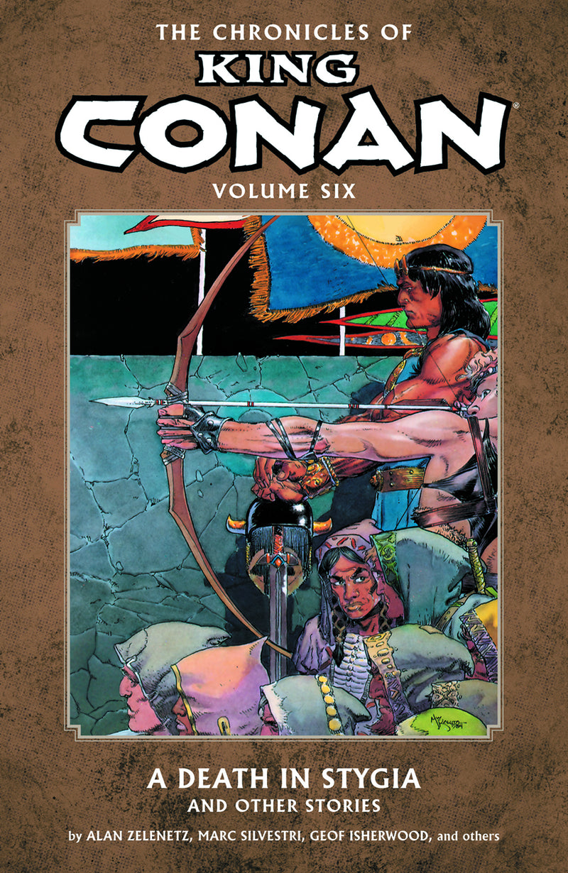 CHRONICLES OF KING CONAN TP VOL 06 DEATH IN STYGIA (C: 0-1-2