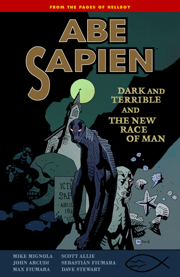 ABE SAPIEN TP VOL 03 DARK TERRIBLE NEW RACE MAN AUG130091