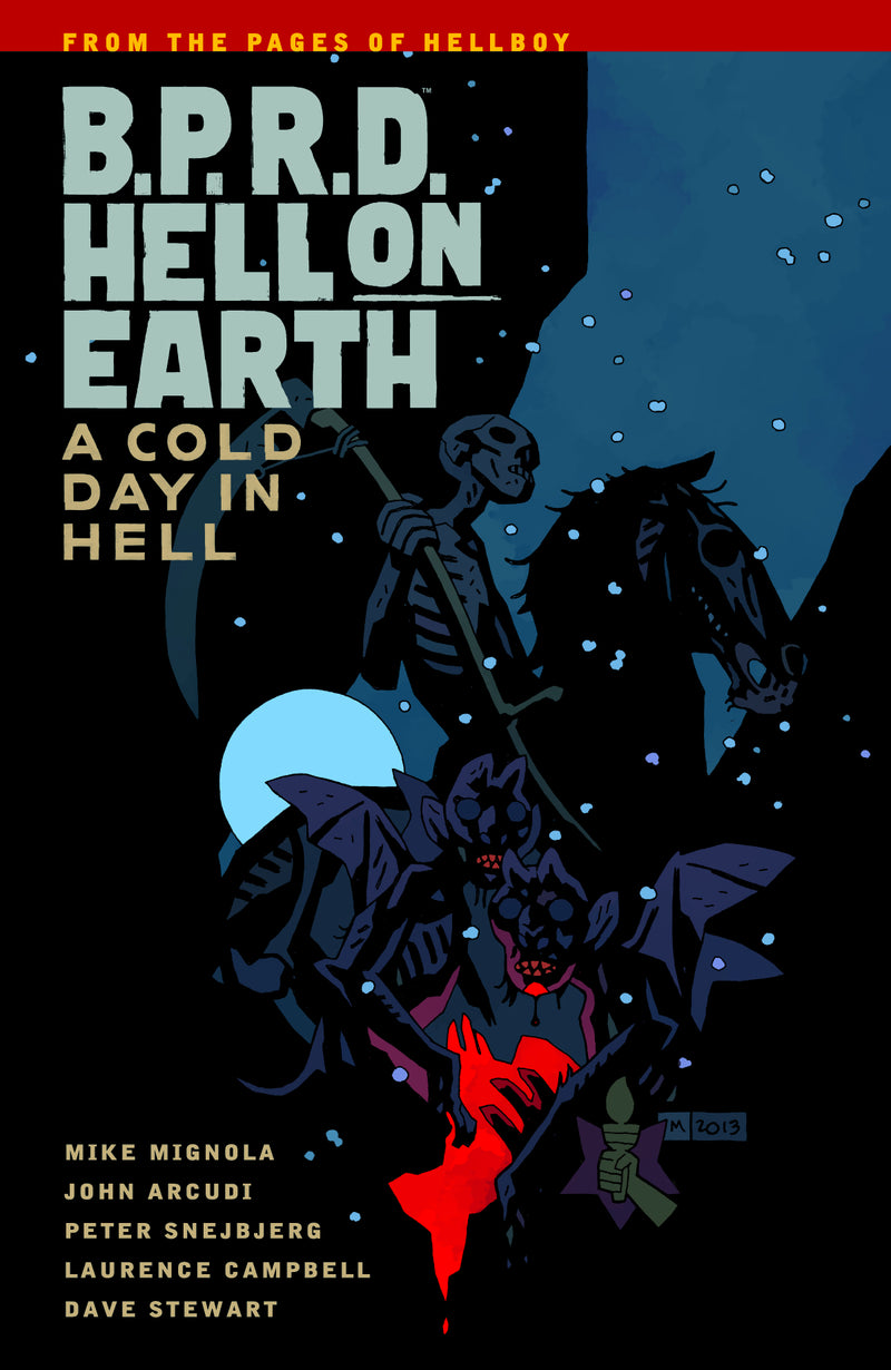 BPRD HELL ON EARTH TP VOL 07 A COLD DAY IN HELL SEP130053