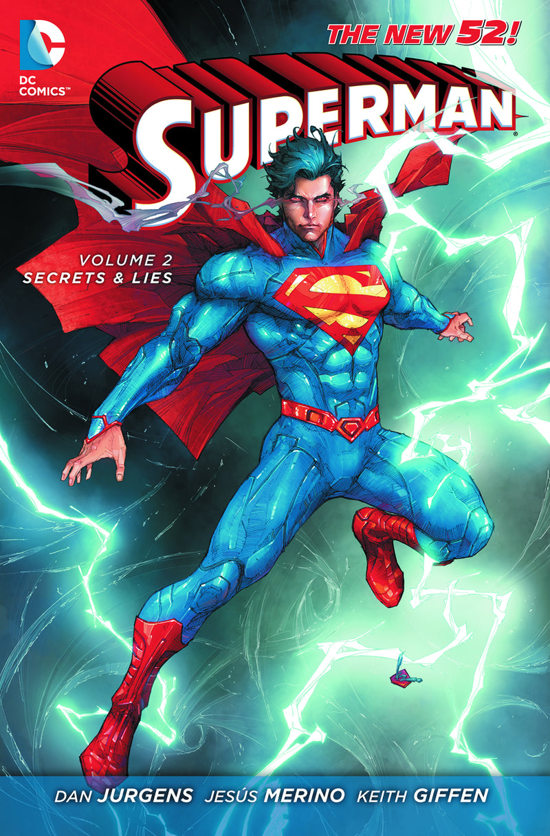 SUPERMAN TP VOL 02 SECRETS AND LIES (N52)