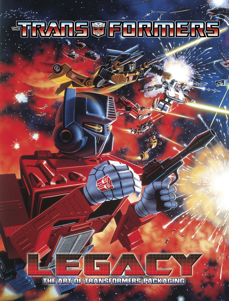 TRANSFORMERS LEGACY CELEBRATION OF PACKAGE ART HC