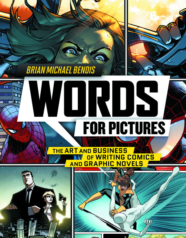 WORDS FOR PICTURES ART & BUSINESS OF WRITING COMICS SC (C: 0