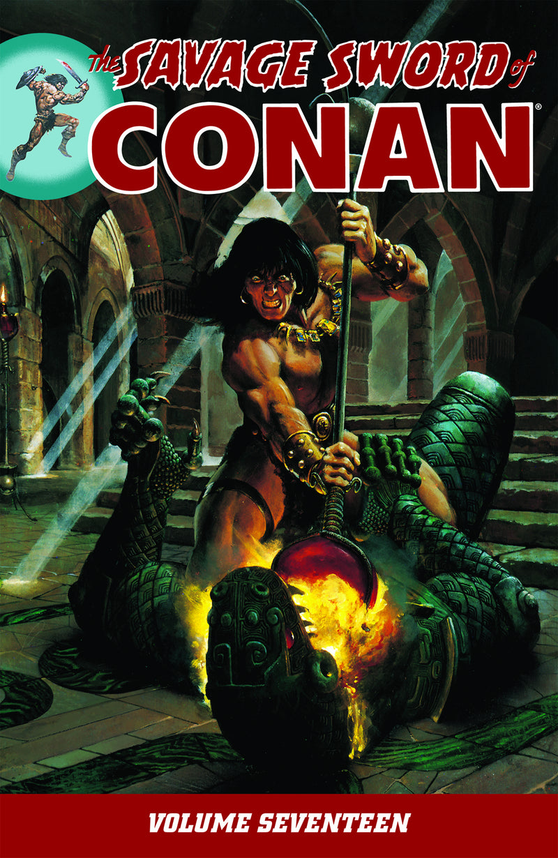 SAVAGE SWORD OF CONAN TP VOL 17 (C: 0-1-2)