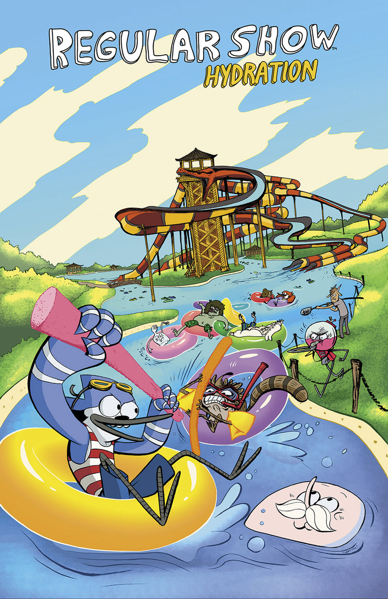 REGULAR SHOW ORIGINAL GN VOL 01 HYDRATION (C: 1-0-0)
