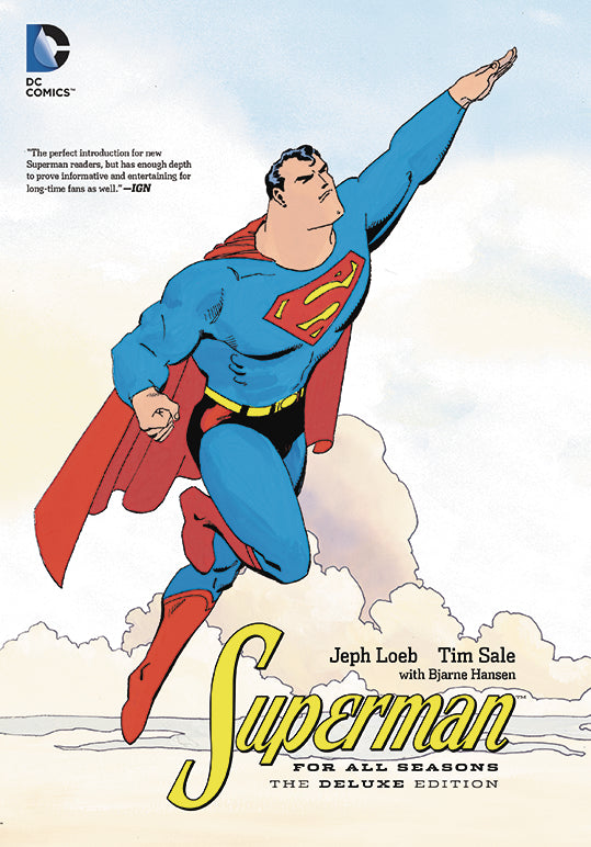 SUPERMAN FOR ALL SEASONS DELUXE ED HC