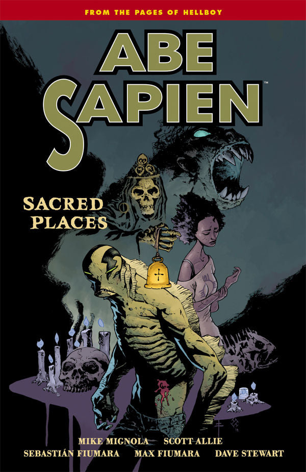 ABE SAPIEN TP VOL 05 SACRED PLACES SEP140095