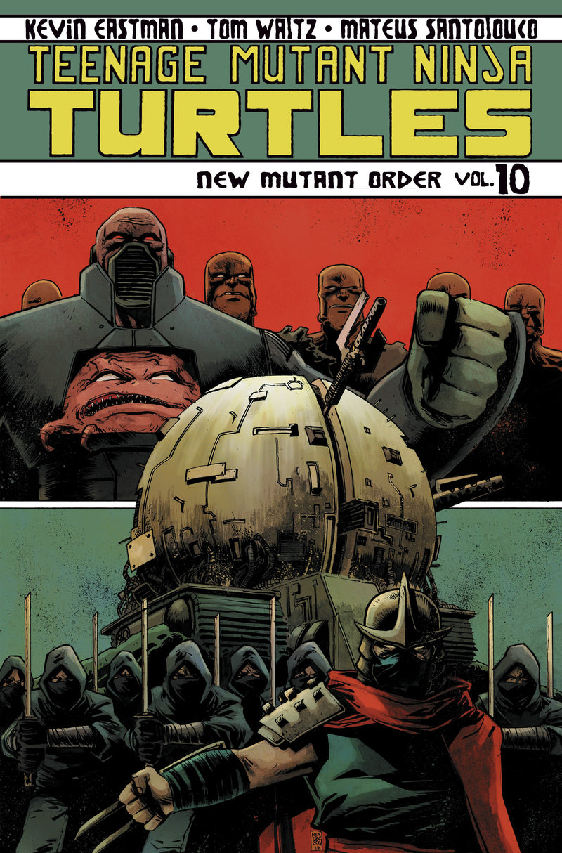 TMNT ONGOING TP VOL 10 NEW MUTANT ORDER